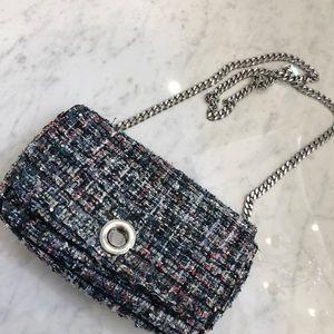 Zara tweed purse